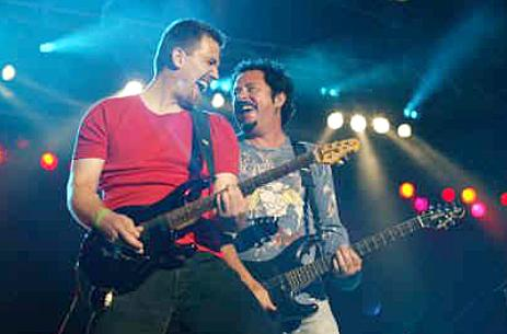 Christian Tolle en Steve Lukather